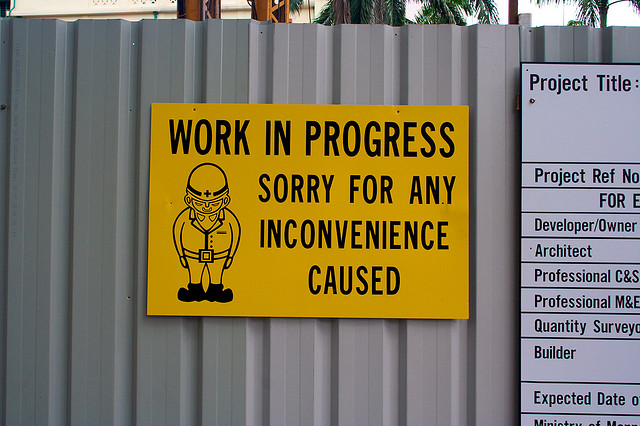 apology sign