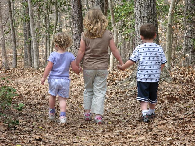 Children's hike