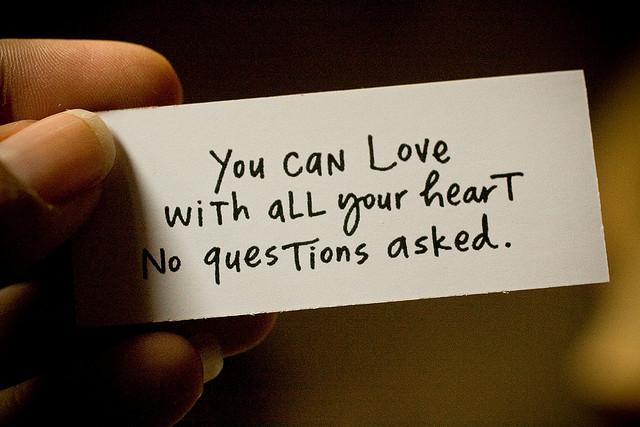 love heart quote