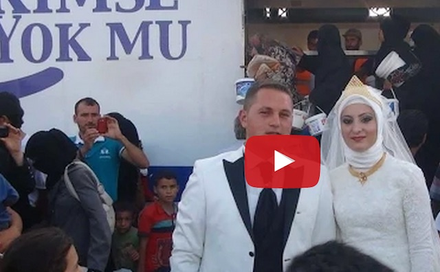 turkey wedding couple