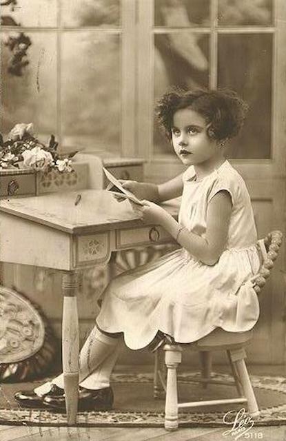 vintage writer
