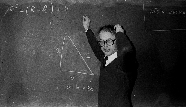 """Torsten, math teacher,"" Blondinrikard Fröberg, Flickr"