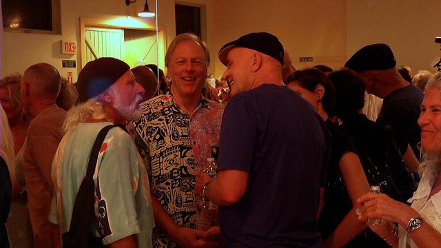"""Living-in-light-movie 13 Alan Cohen, Wayne Dyer"" Marti Wukelic, Flickr"