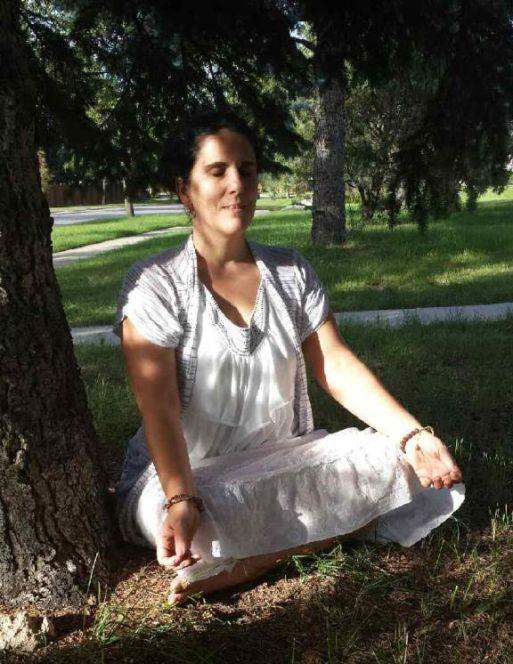 Christine Machiraju meditation pic