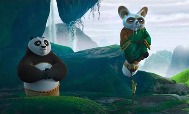 Kung Fu Panda inner peace