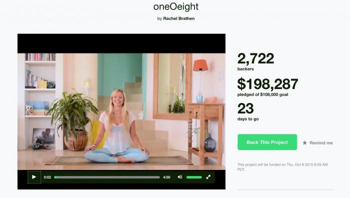 Rachel Brathen oneOeight Kickstarter