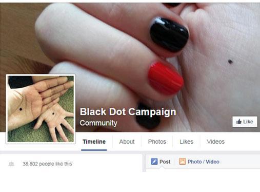blackdot FB page