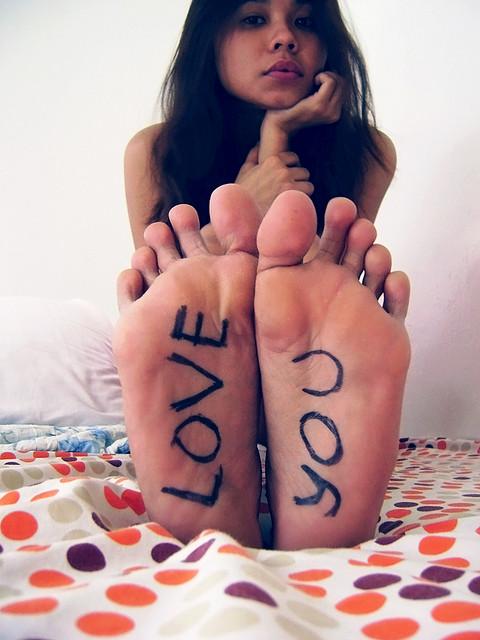 love you feet