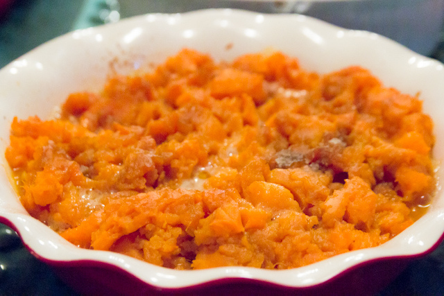 sweet potato dish