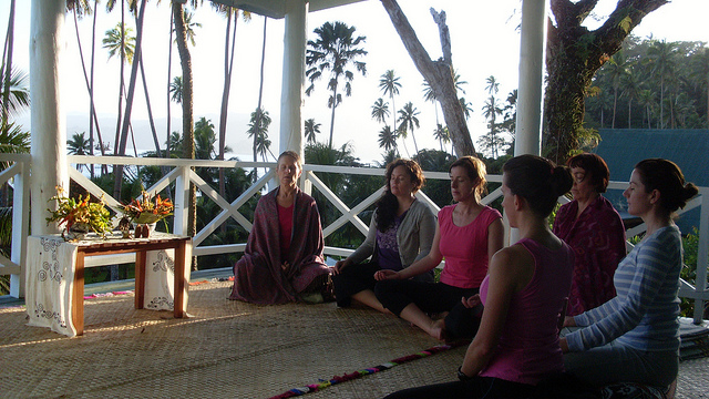 yoga wellness meditate retreat