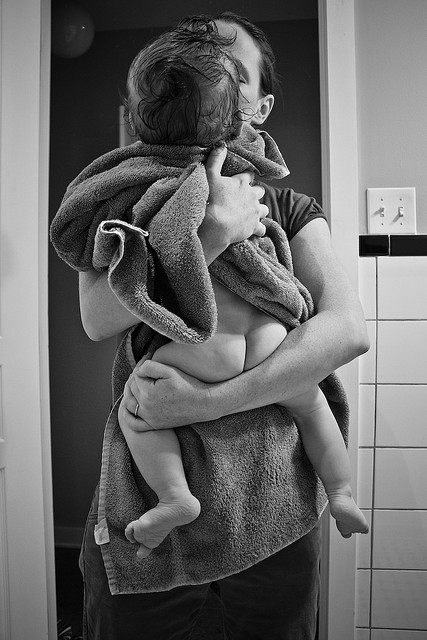 parent baby bath bum