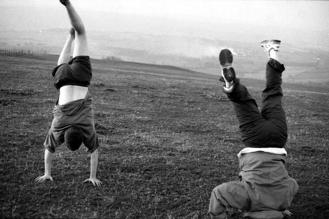 Handstands, Sarah Joy, Flickr