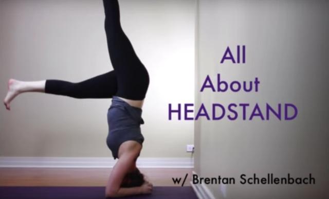 Brentan Headstand
