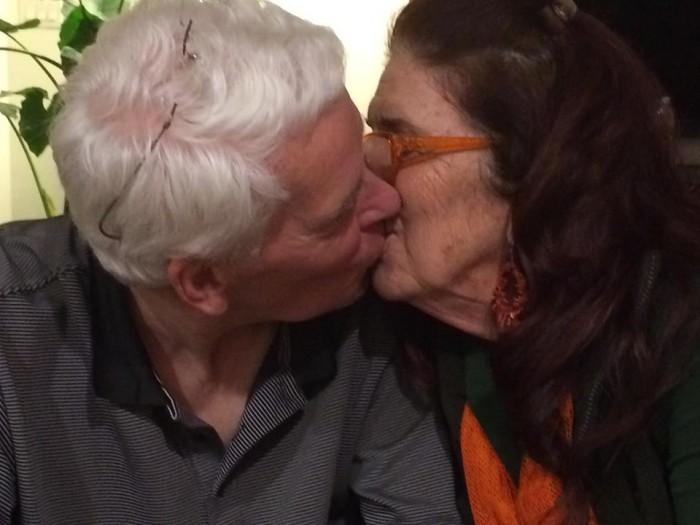David and Me, The Kiss