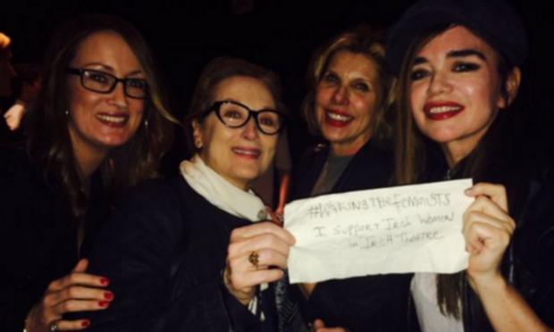 Meryl Streep supports WakingTheFeminists