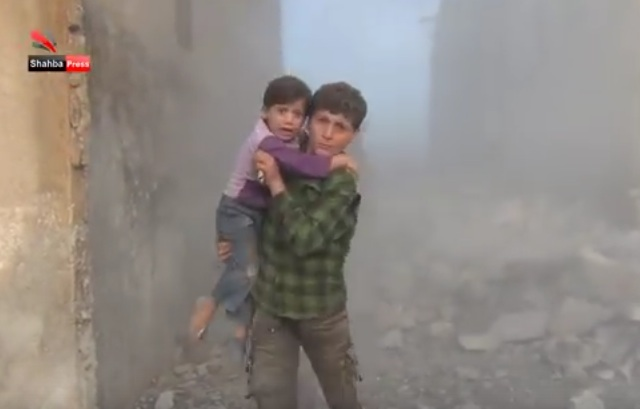 Russian Air Strikes Aleppo Oct 2015