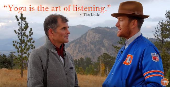 Tias Little yoga is the art of listening Waylon Lewis Yoga Journal