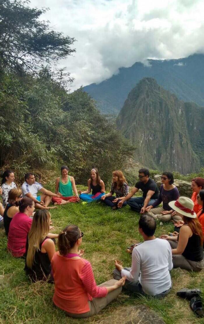 Meditation Machu Picchu