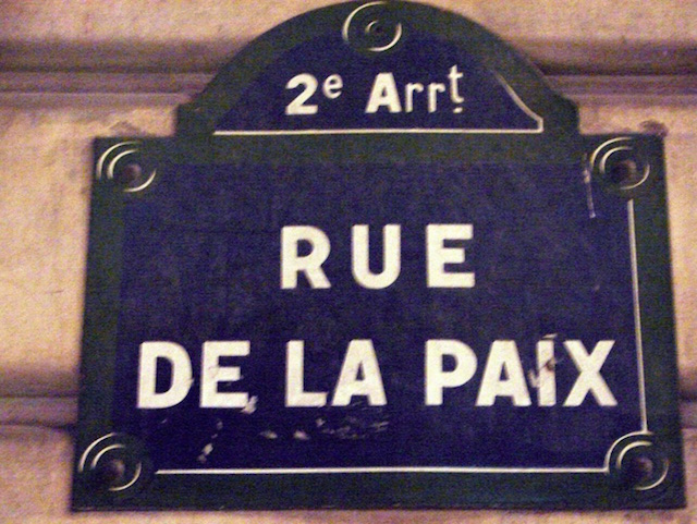 street of peace
