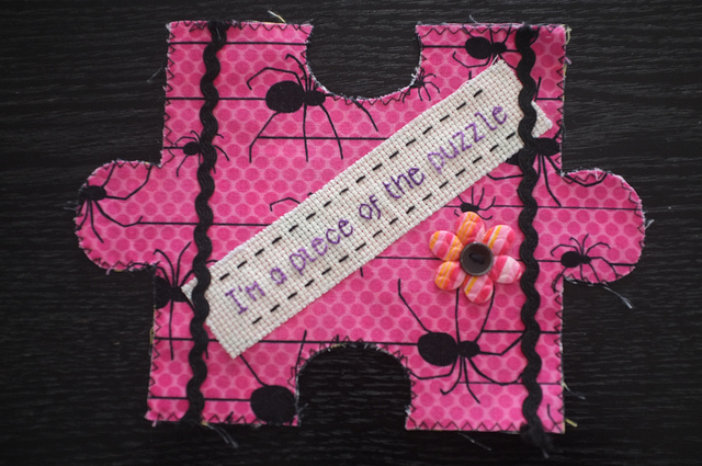 jigsaw piece craftivist collective flickr