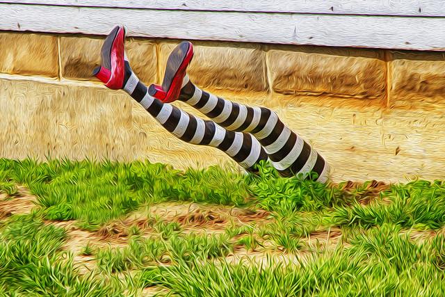 witch legs bad friend enemy jerk