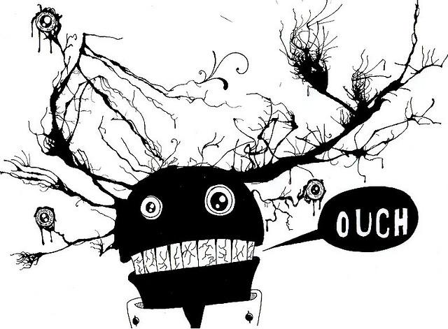 Monster. Flicker: Julia P.