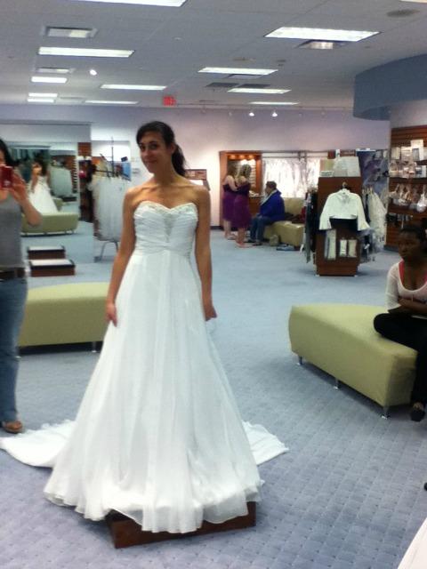 False Smile White Dress1