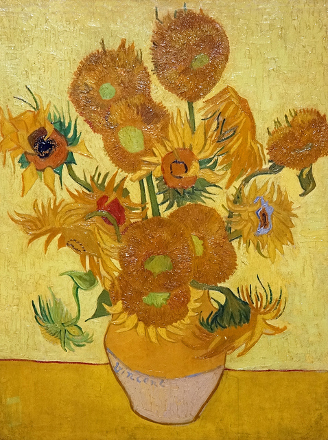 Sunflower VanGogh