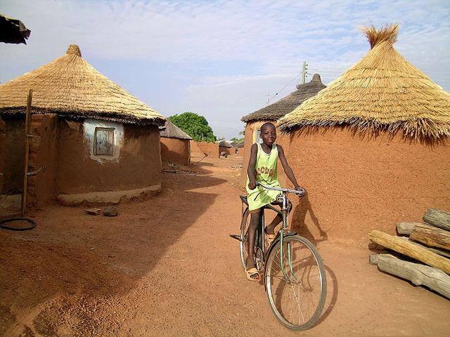 ghana village africa