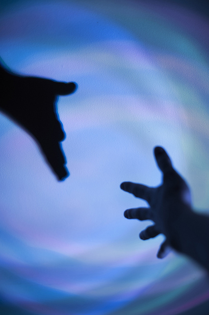 reach hand help