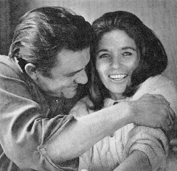 WikiMedia Commons/Public domain: https://commons.wikimedia.org/wiki/File:JohnnyCashJuneCarterCash1969.jpg