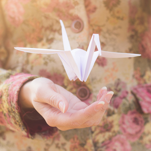 let go, origami