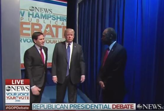 GOP debate trump