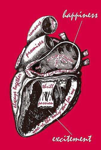 human heart romance