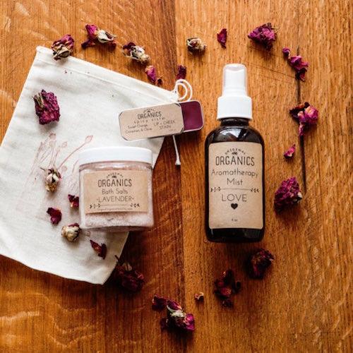 organics herbals love set