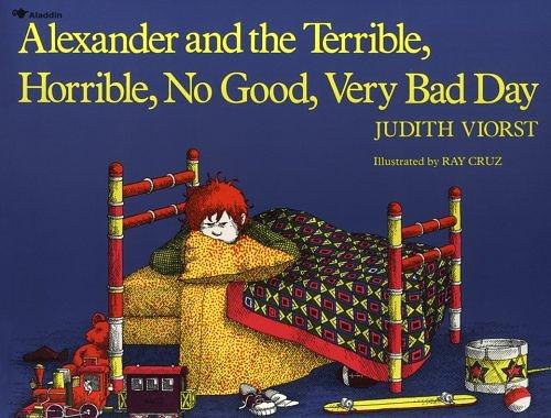 ALEXANDER_TERRIBLE_HORRIBLE book cover reading