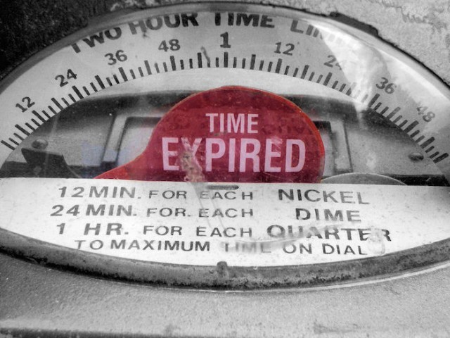 expiry date time expired