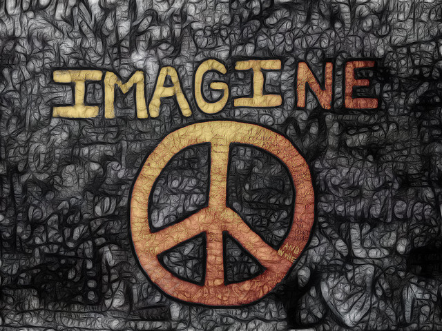 peace john lennon imagine