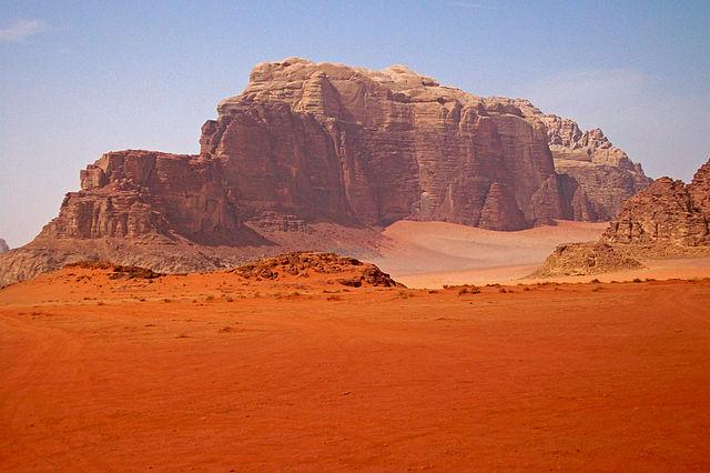 wadi rum valley of the moon jordan