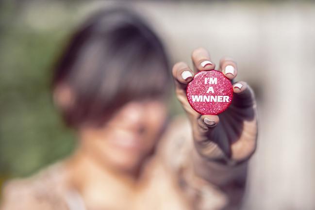 winner, badge