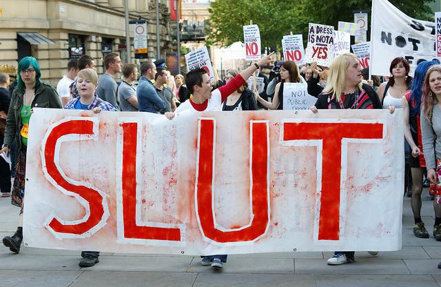 Slutwalk Manchester, Man Alive! / Flickr