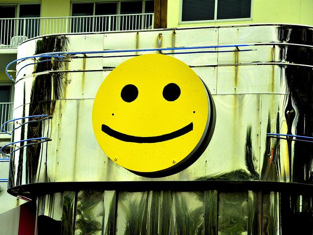 Happy face positivity