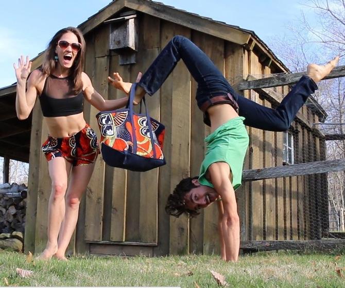 Matt handstand
