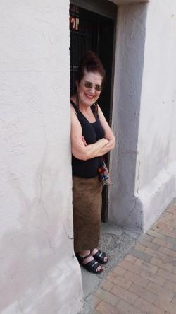 Me in doorway