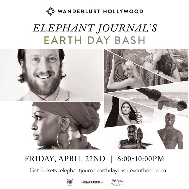 Waylon Lewis Things I would like to do with You Earth Day Wanderlust Hollywood event