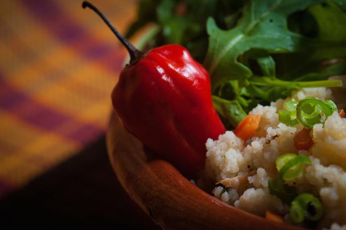 bell pepper rice cooking food simple greens veggies