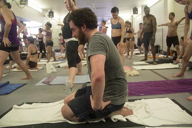 bikram hot yoga
