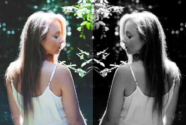 dual twins yin yang nature women reflection