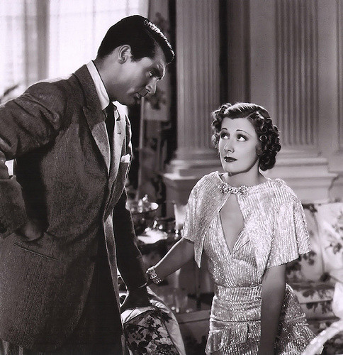 cary grant irene dunne vintage couple love