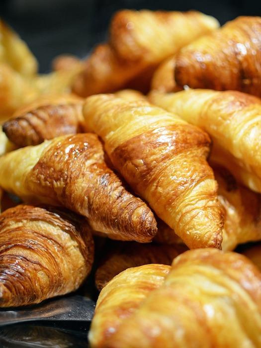 croissants baked goods